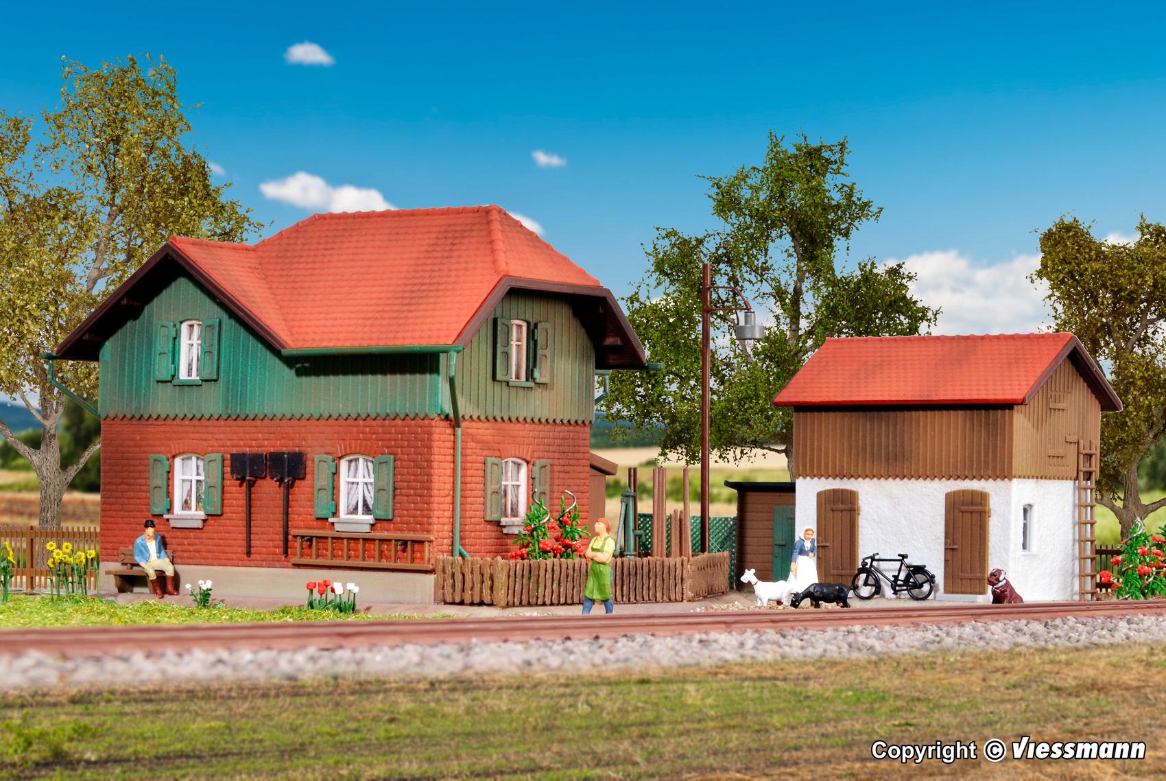 Kibri 39349 H0 Nebengebäude mit Schuppen