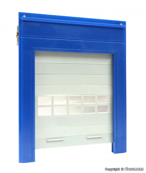 H0 Roller shutter with motorized drive unit