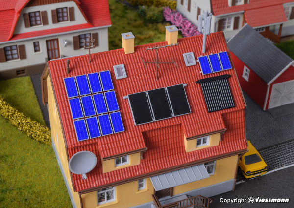 H0 Deko-Set Solar, Röhren, Photovoltaik