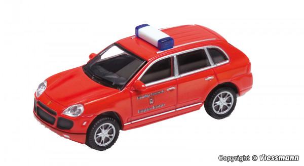 H0 Porsche Cayenne Turbo, Feuerwehr, rot,