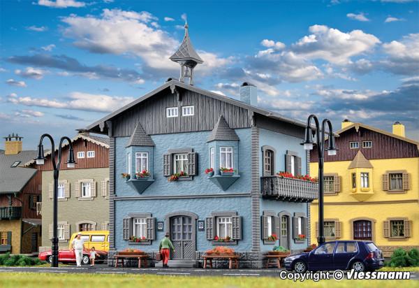 H0 Wohnhaus mit Erker