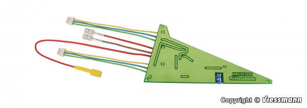 Dreiwegweichendecoder für C-Gleis
