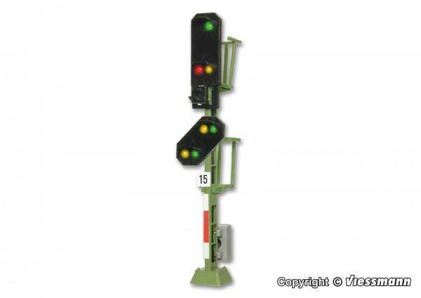 TT Licht-Einfahrsignal mit Vorsignal