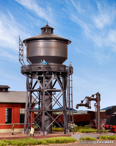 H0 Wasserturm mit Befüllkran