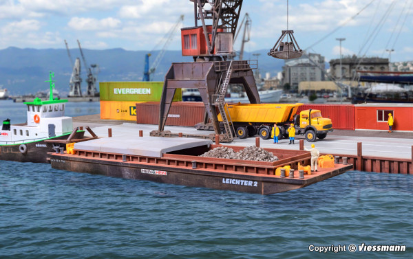 H0 Leichter für Schüttgüter oder Container