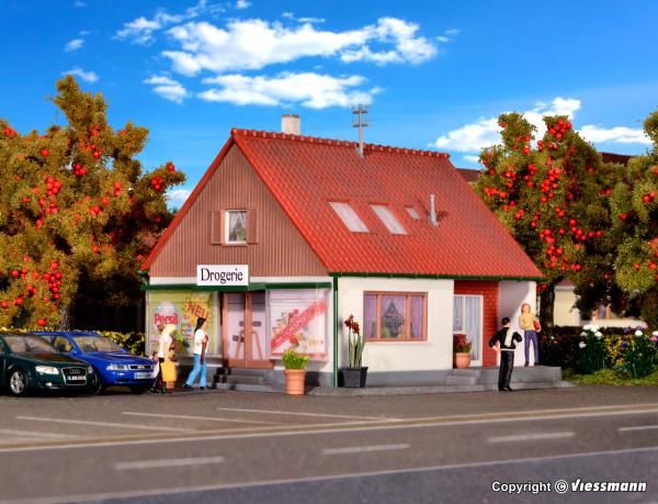 H0 Einfamilienhaus mit Laden
