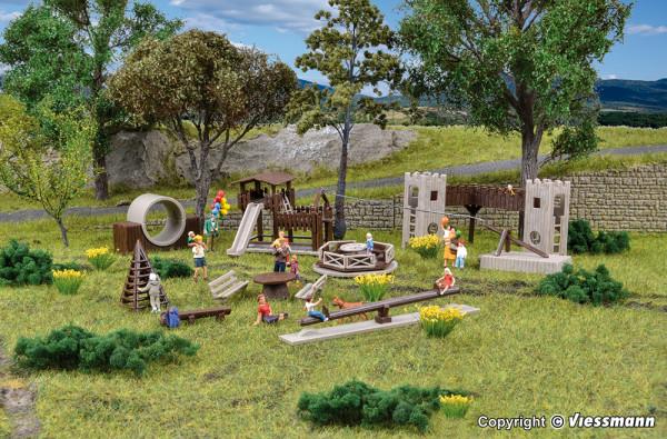 H0 Deko-Set Abenteuerspielplatz