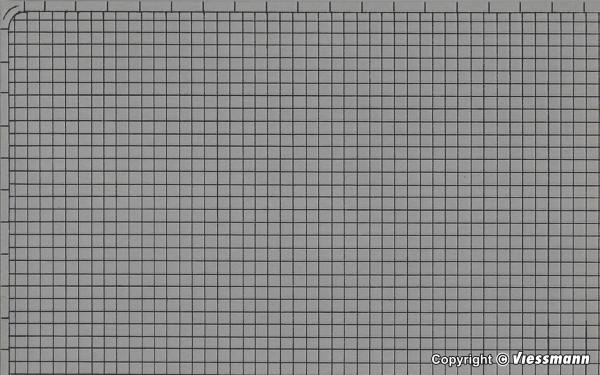 N Gehwegplatte aus Karton, 25 x 12,5 cm, 10 Stück