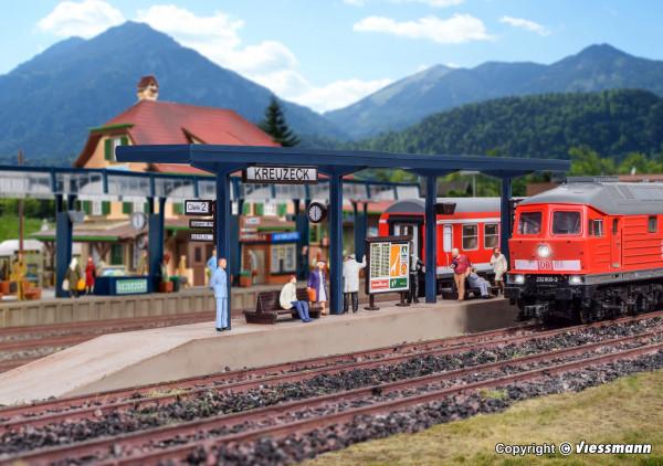 H0 Bahnsteig Kreuzeck