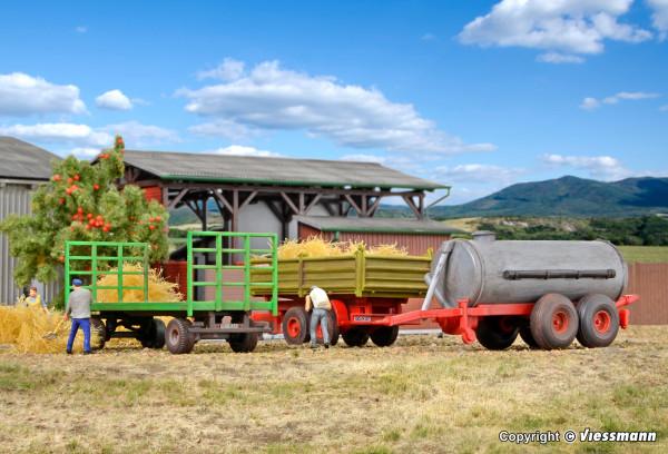 H0 Landwirtschaftliche Anhänger, 3 Stück