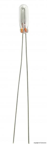 Glühlampe klar T 1/2, Ø 1,8 mm, 16 V, 30 mA,