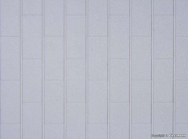H0 Blechdachplatte, L ca. 20 x B 12 cm