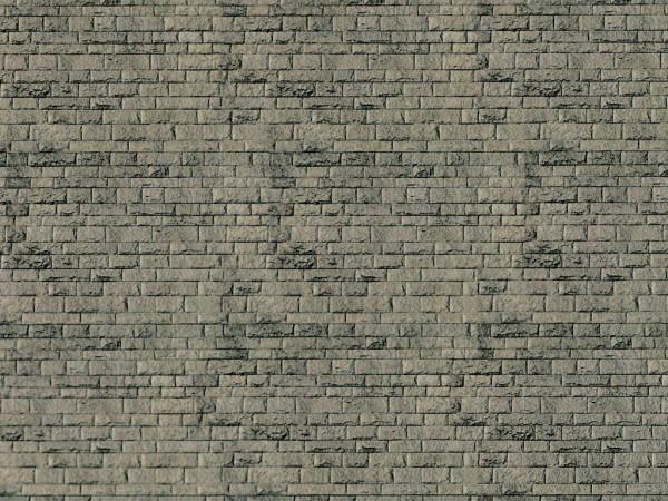 N Mauerplatte Haustein natur aus Karton,