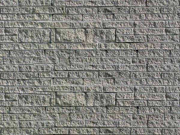 H0 Mauerplatte Gneis aus Karton, 25 x 12,5 cm,