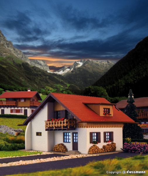 H0 Haus Bergblick