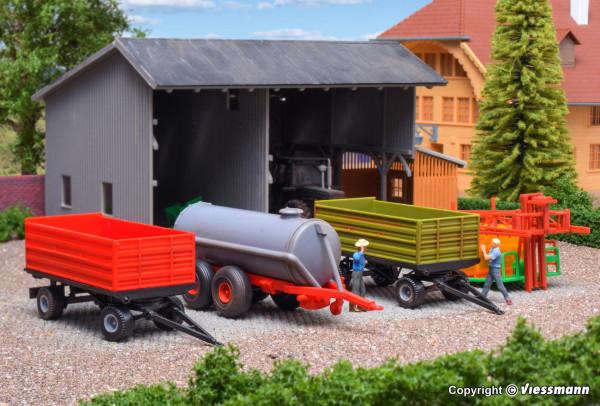 H0 Landwirtschaftliches Set