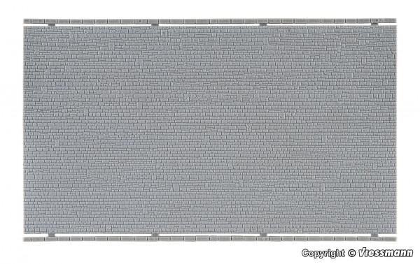 N Mauerplatte unregelmäßig, L ca. 20 x B 12 cm