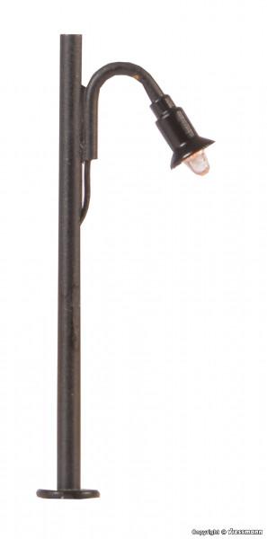 Z Holzmastleuchte, LED warmweiß