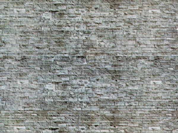 N Mauerplatte Mauerstein aus Karton, 25 x 12,5 cm,