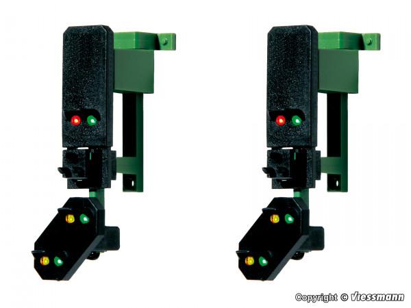 H0 Blocksignalköpfe mit Vorsignal und Multiplex-