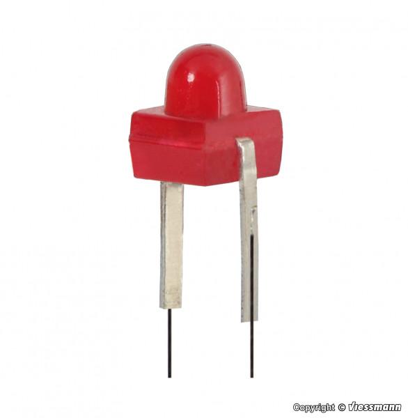 H0 Zugschlussbeleuchtung mit LED, 2 Stück