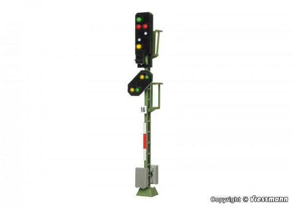 H0 Licht-Ausfahrsignal mit Vorsignal