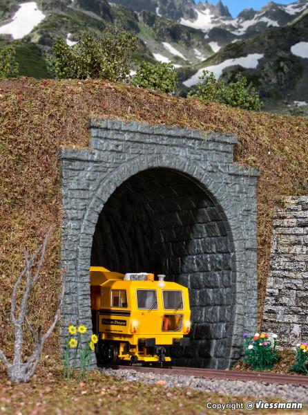 H0 Tunnelportal, eingleisig