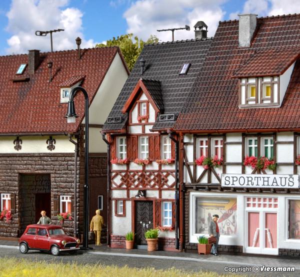 H0 Fachwerkhaus Bahnhofstraße 17