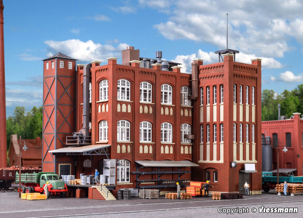 H0 Fabrik aus der Gründerzeit
