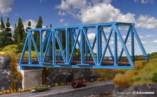 H0 Kastenbrücke, gerade