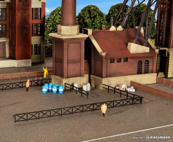 N Zaun für Industrie- und Bahnanlagen