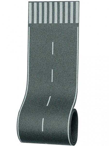 H0 Straßenfolie mit Zebrastreifen, 100 x 8 cm