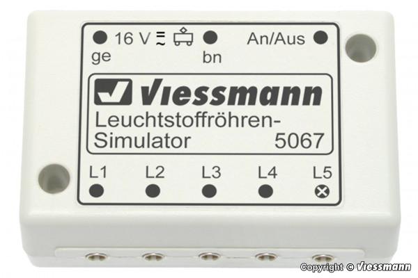 Leuchtstoffröhren-Simulator