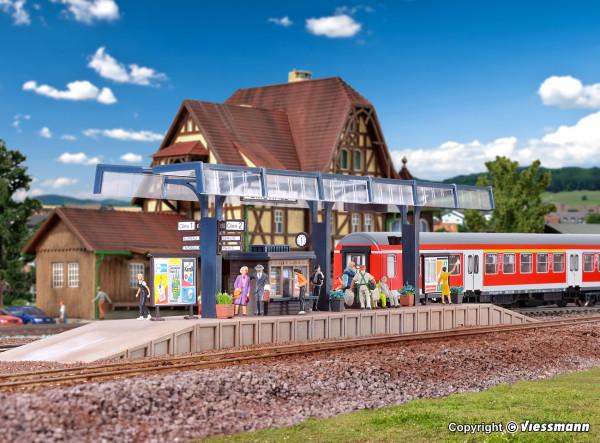 H0 Bahnsteig Emswald