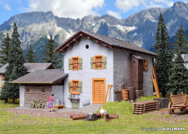 H0 Berghaus Fextal in Grevasalvas