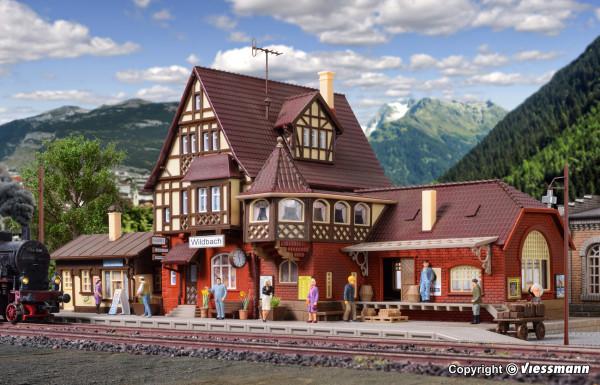 H0 Bahnhof Wildbach