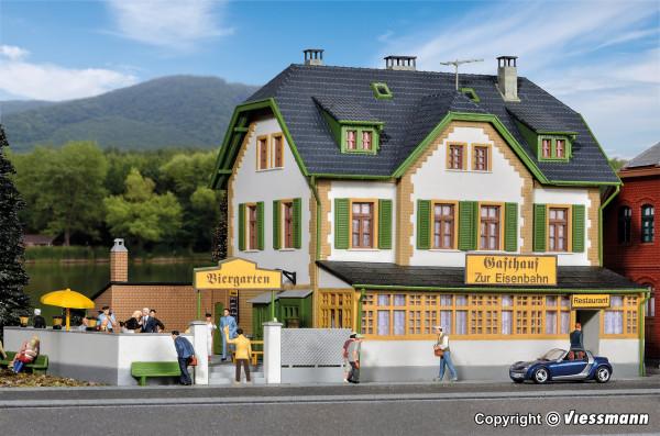 H0 Gaststätte zur Eisenbahn