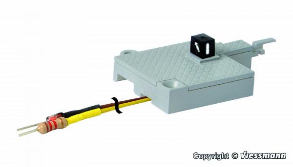 H0 Weichenlaterne mit Adapter für
