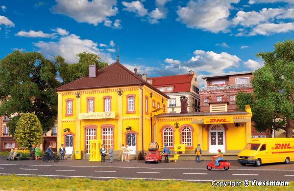 H0 DHL Deutsche Post Gebäude