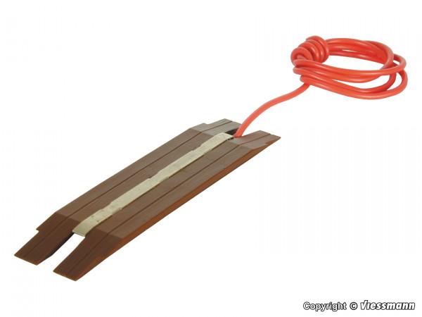 H0 Gleisfüllstück für Mittelleitergleise, passend