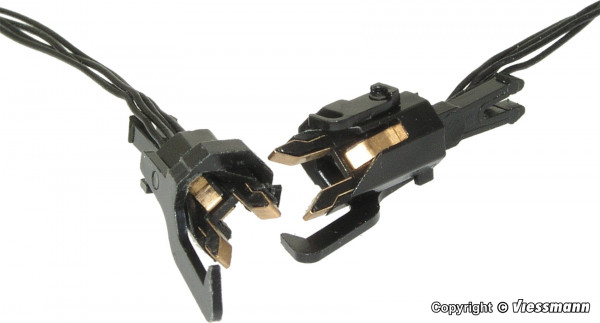 H0 Stromführende Kupplungen, 4-polig, 1 Paar