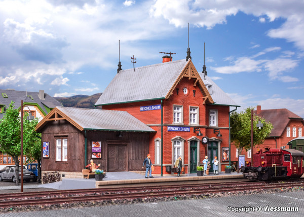 H0 Bahnhof Reichelsheim