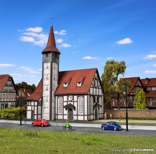 H0 Fachwerkkirche Altbach