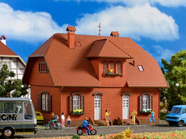 H0 Backstein-Siedlungshaus