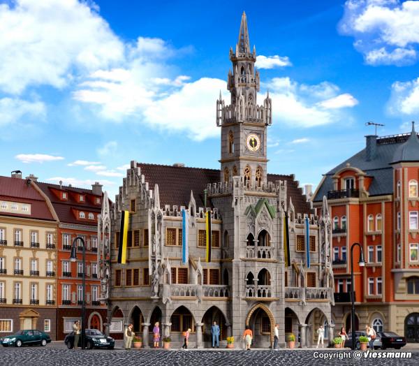 H0 Großstadt-Rathaus