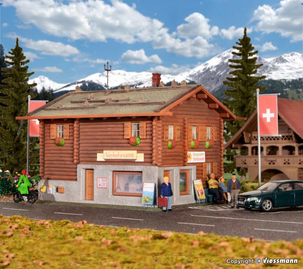 H0 Verkehrsamt in Davos