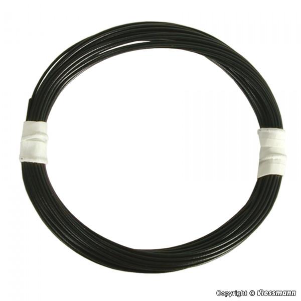 Extradünner Spezialdraht 0,03 mm², schwarz, 5 m