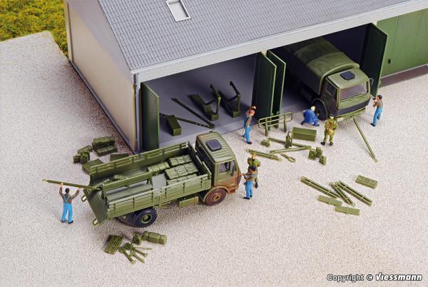 H0 Bundeswehr Zurüstsatz für Einsatzfahrzeuge