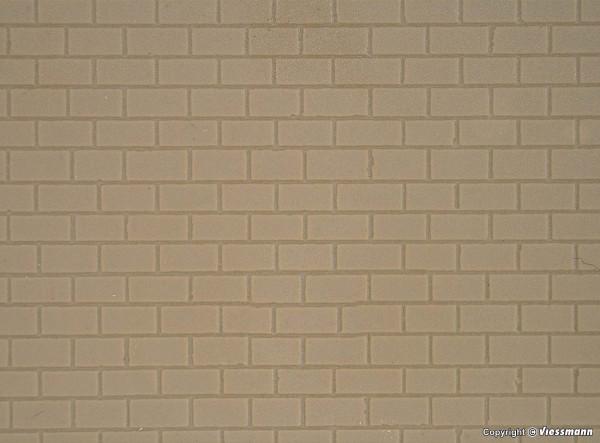 H0 Brücken Mauerplatte, L ca. 20 x B 12 cm