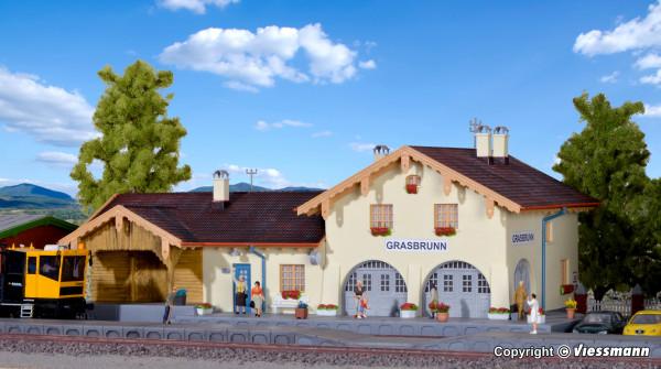 H0 Bahnhof Grasbrunn